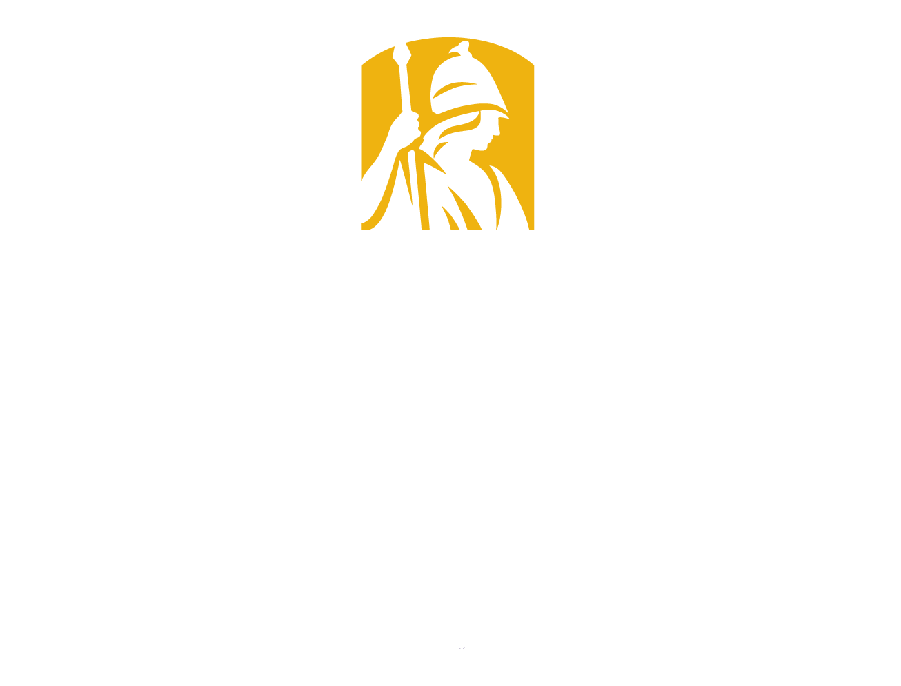 University at Albany white logo