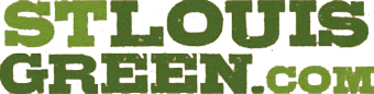 St Louis Green white logo