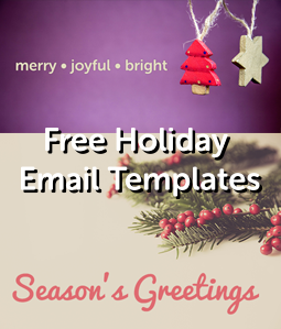 Free holiday email templates hatchbuck send season greetings m4hsunfo