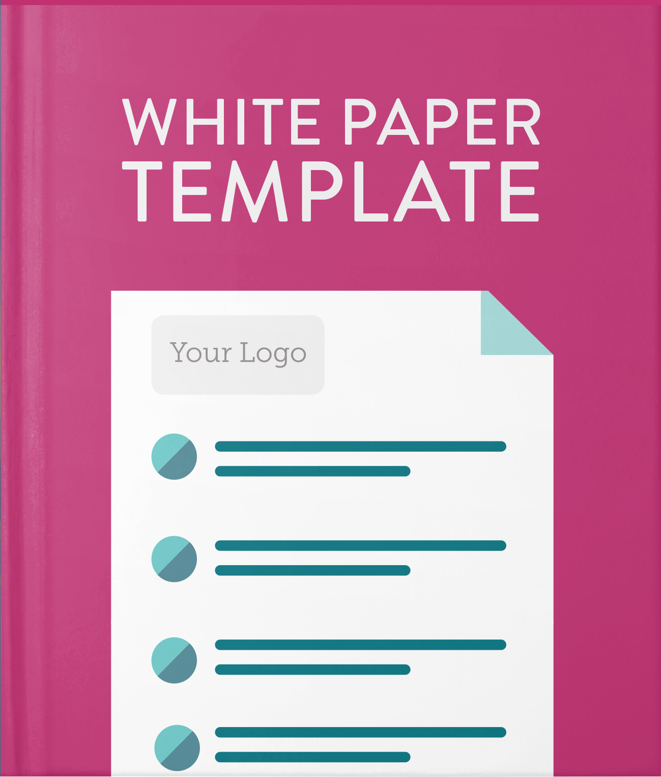 White Paper Template Hatchbuck – White Paper Template Word
