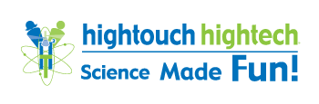 High Touch High Tech – Science Made Fun white logo